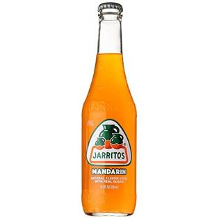 Jarritos Mandarina Soda Bottle