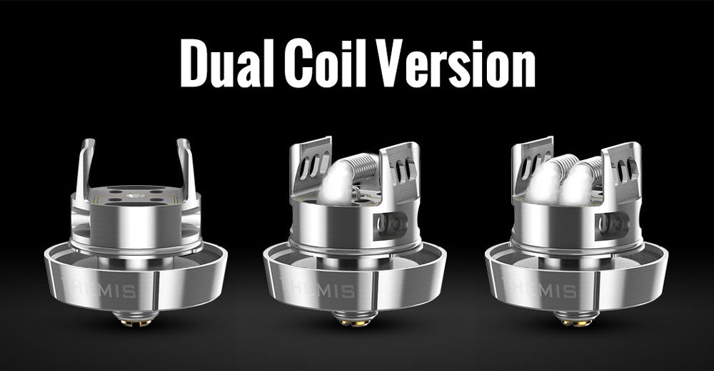 Digiflavor Themis RTA Dual Coil/Mesh Version Shop
