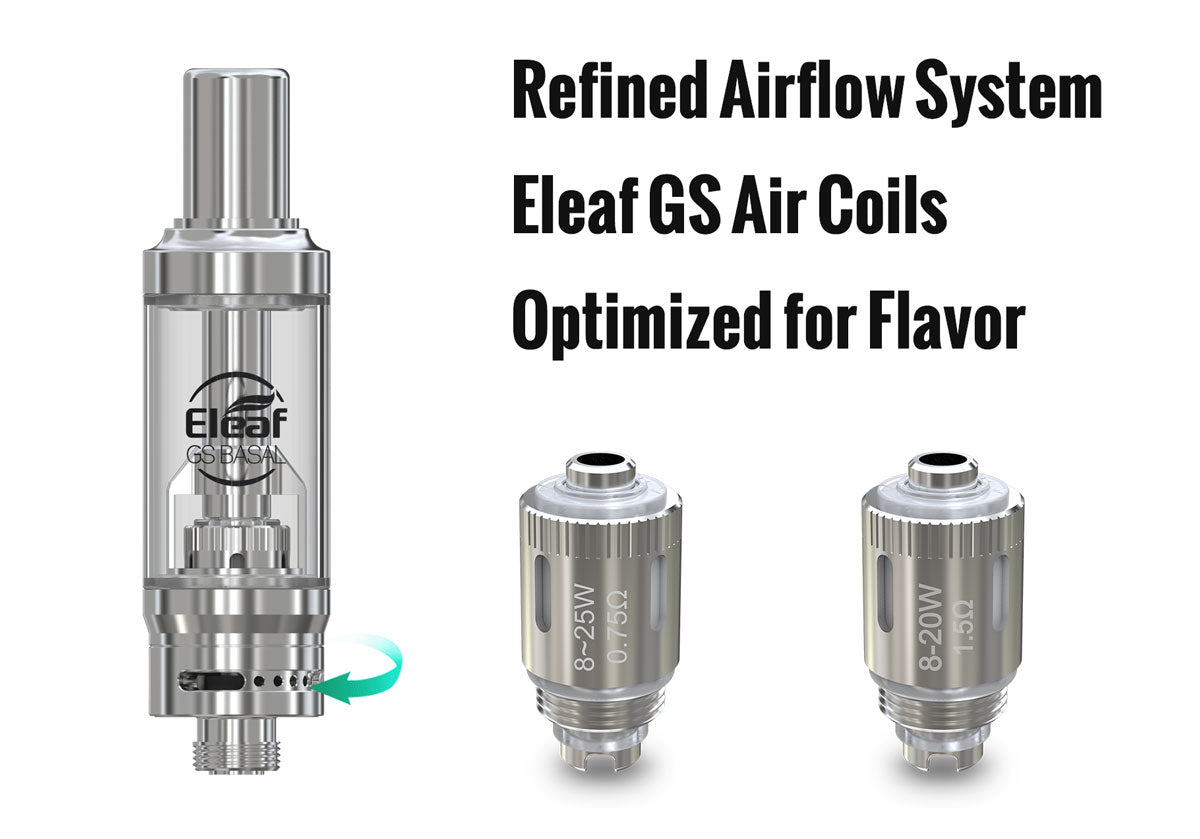 Eleaf BASAL 30W Mod with GS BASAL Kit 1500mAh Airflow