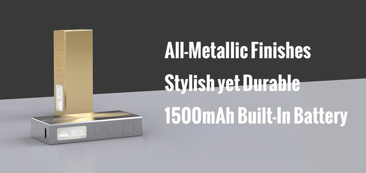 Eleaf BASAL 30W Mod with GS BASAL Kit 1500mAh Features