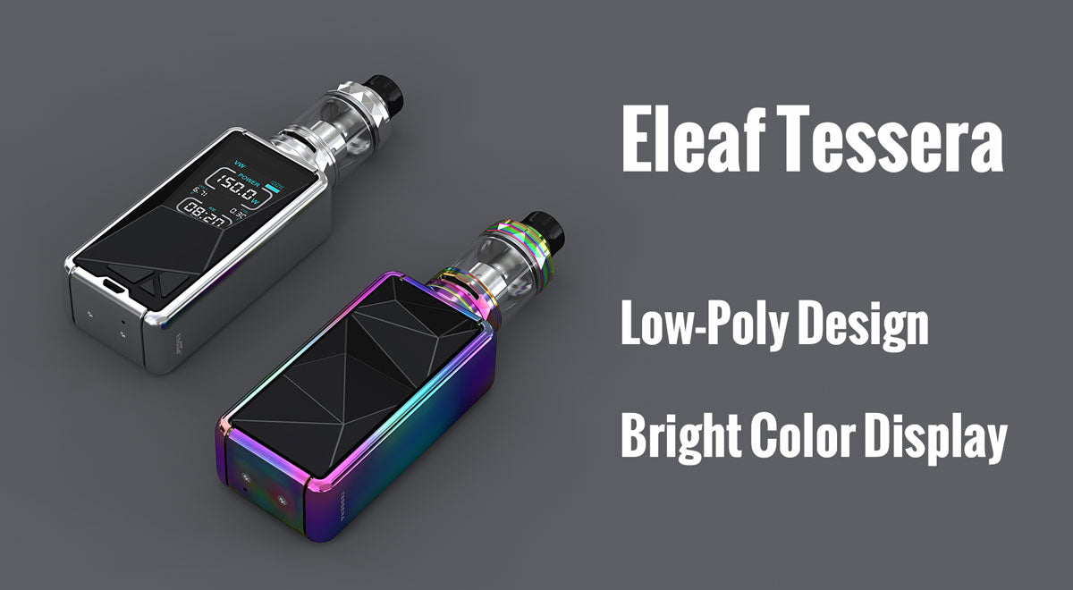 Eleaf Tessera 150W Mod with Ello TS Kit 3400mAh Shop