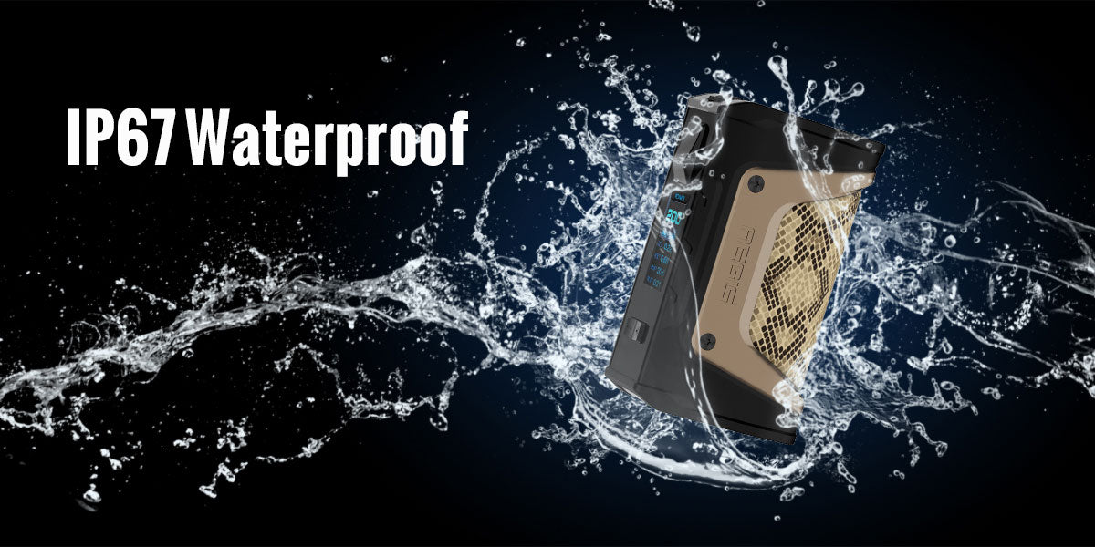 GeekVape Aegis Legend 200W TC Box Mod Waterproof