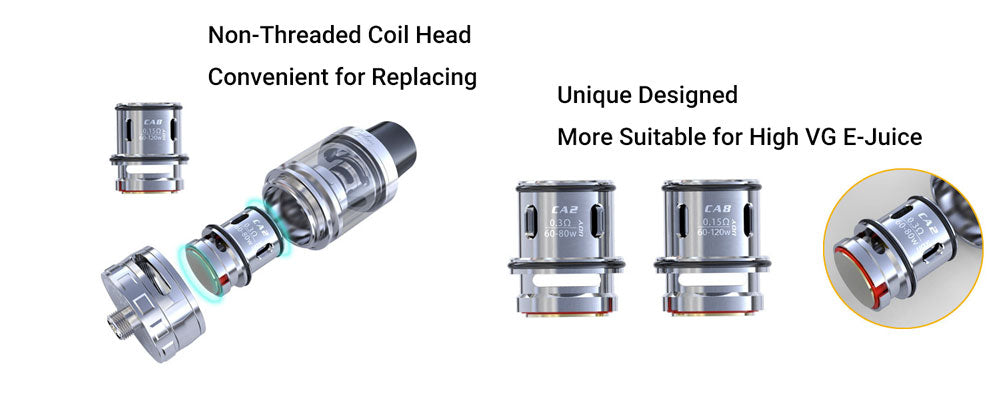 IJOY Captain CA Replacement Coil 3pcs Details