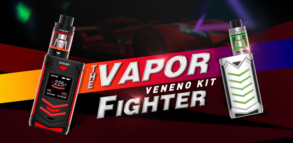 SMOK Veneno 225W TC Mod with TFV8 Big Baby Light Edition Kit Sale