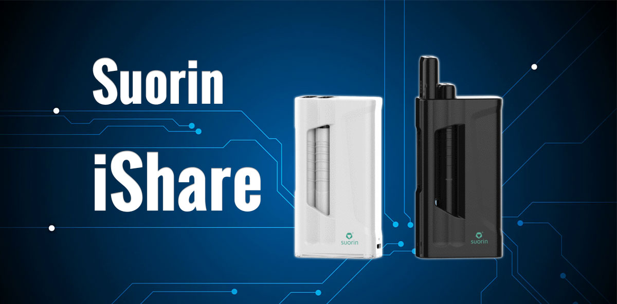 Suorin iShare Pod Vape Starter Kit On Sale