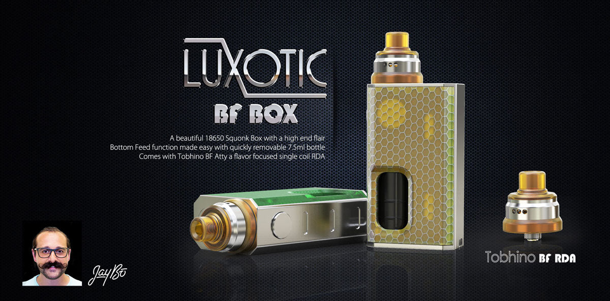 WISMEC Luxotic BF Squonk Mod with Tobhino RDA Kit On Sale