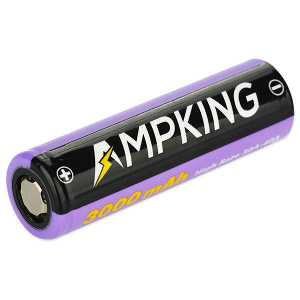 Ampking AK3030 20700 3000mAh Rechargeable Li-ion Battery 40A 3000mAh