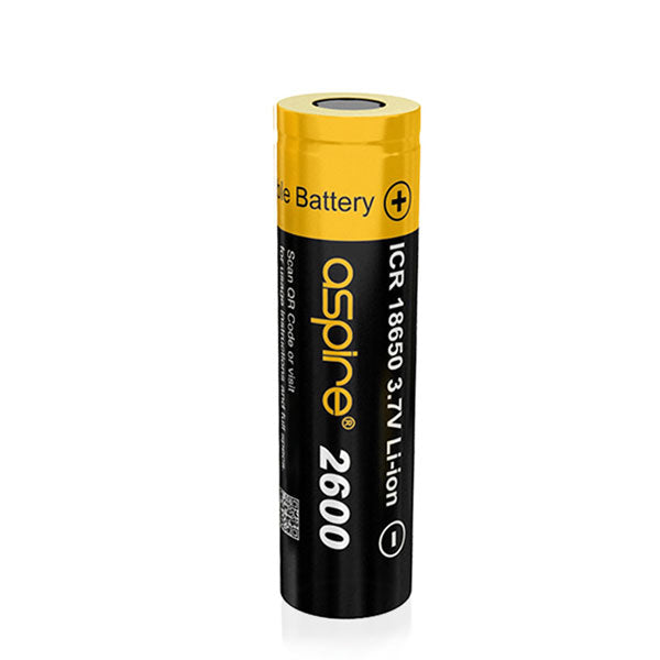 Aspire ICR 18650 Rechargeable Li-ion Battery 40A 2600mAh