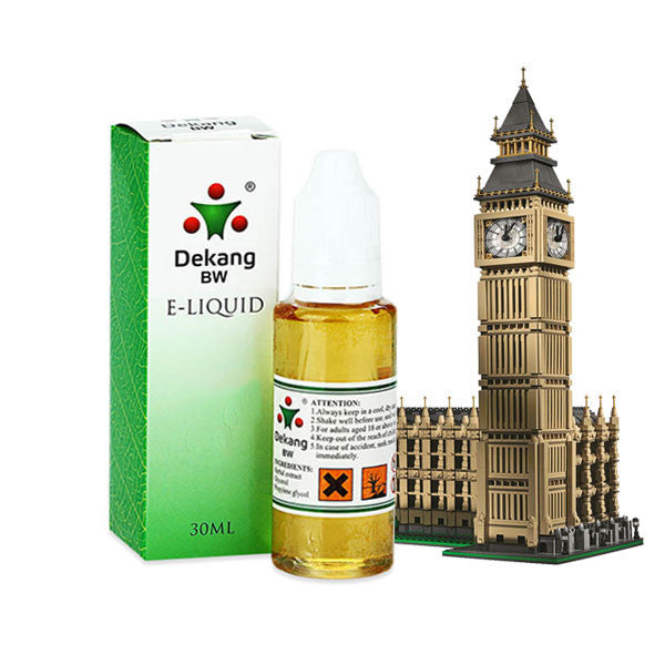 Big Ben/Parliament E-Liquid by Dekang - 30ml