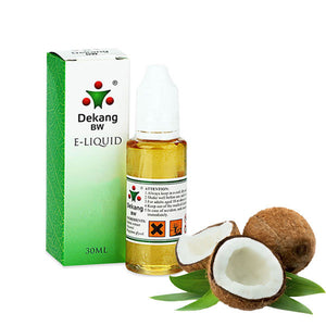 Coconut E-Liquid by Dekang - 30ml