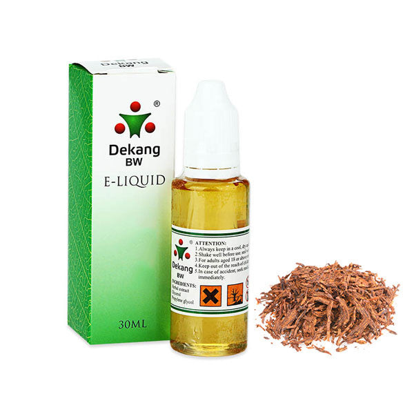 Flue Cured Tobacco E-Liquid by Dekang - 30ml
