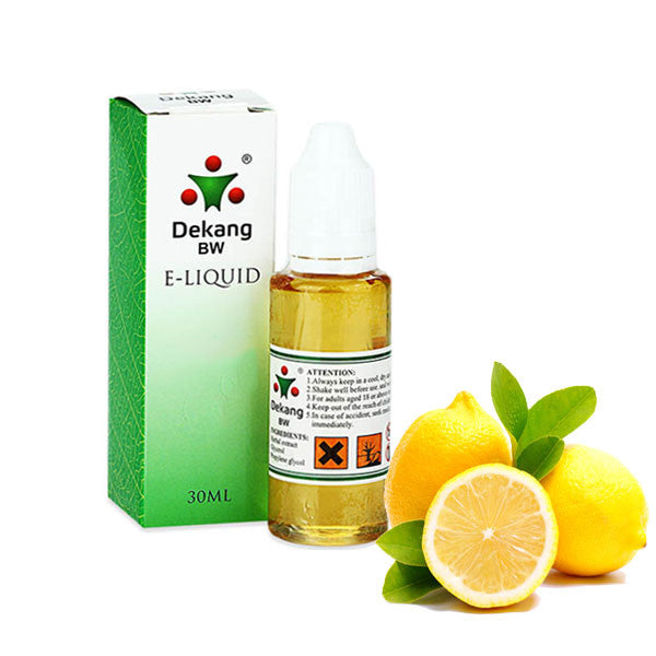 Lemon E-Liquid by Dekang - 30ml