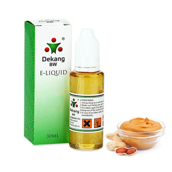 Peanut Butter E-Liquid by Dekang - 30ml