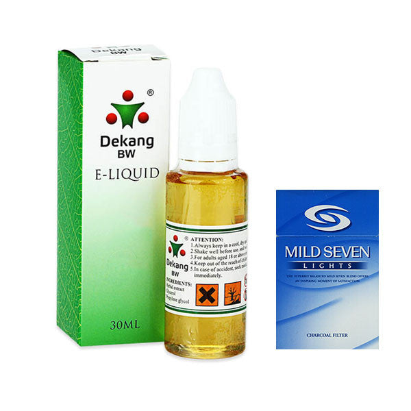 Seven Star/Mild Seven E-Liquid by Dekang - 30ml