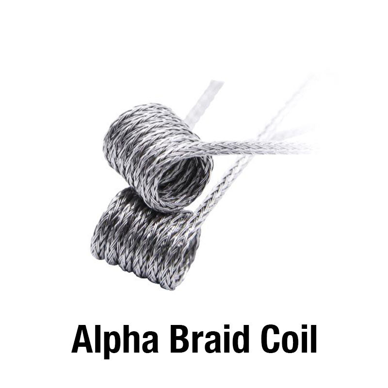 GeekVape 6 In 1 Coil Pack Alpha Braid Coil