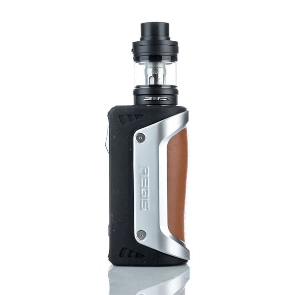 GeekVape_Aegis_100W_Mod_with_Shield_Tank_Kit_Silver_Brown