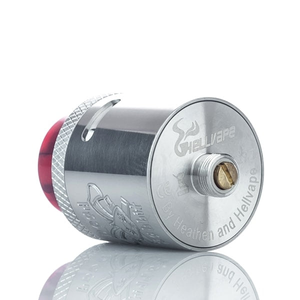Hellvape_Dead_Rabbit_RDA_24mm_Postless_Silver 4