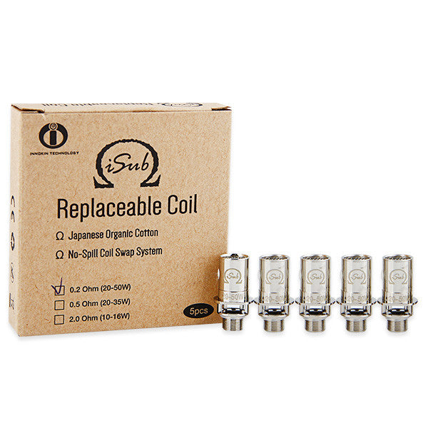 Innokin iTaste iSub Replacement Sub Ohm Coil Head 5pcs
