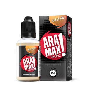 Max Peach - ARAMAX E-liquid - 30ml