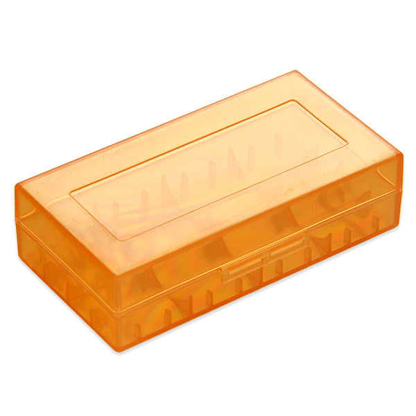 Protective Plastic Storage Case for 18650 Battery