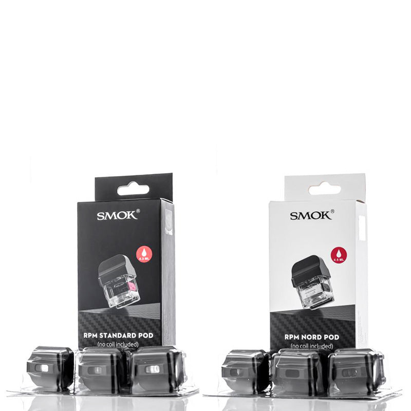 SMOK RPM40 Replacement Pod 3pcs