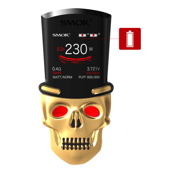 SMOK_S Priv_230W_TC_Mod_with_TFV8_Big_Baby_Light_Edition_Kit_Skull_LED_Screen