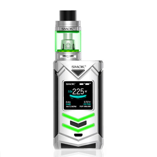 SMOK_Veneno_225W_TC_Mod_with_TFV8_Big_Baby_Light_Edition_Kit_Silver_Black
