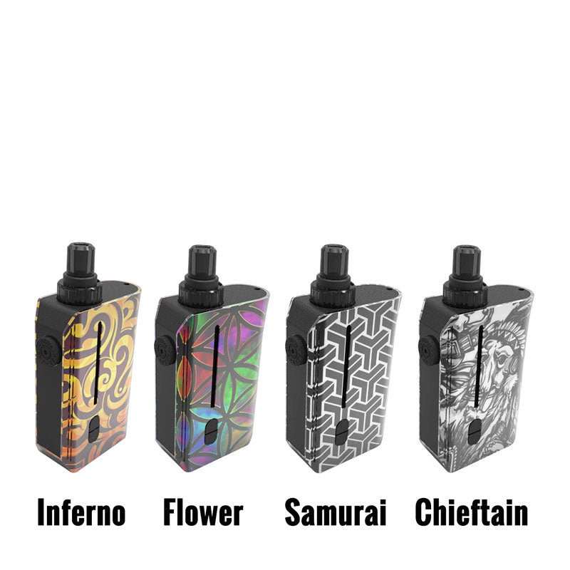 Squid Industries Squad Pod System (Refillable, Rebuildable, Disposable Pods)