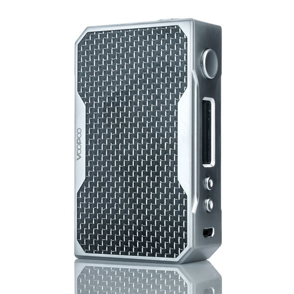 VooPoo_DRAG_157W_TC_Box_Mod_Silver_Black_Carbon_Fiber