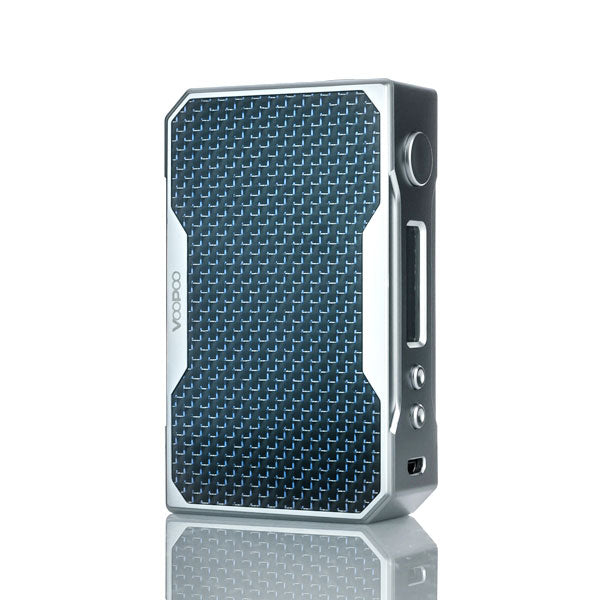VooPoo_DRAG_157W_TC_Box_Mod_Silver_Blue_Carbon_Fiber