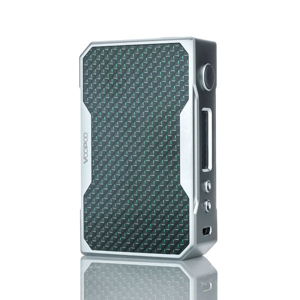 VooPoo_DRAG_157W_TC_Box_Mod_Silver_Green_Carbon_Fiber