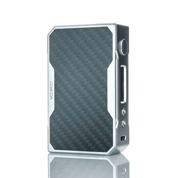 VooPoo_DRAG_157W_TC_Box_Mod_Silver_Grey_Carbon_Fiber
