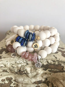 Whitewood and Ohm Bracelet