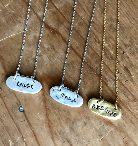 Sow the Seeds Necklace
