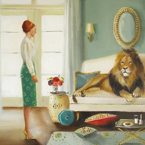 """the house guest"" print by janet hill"