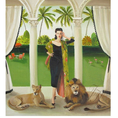 """the villainess"" print by janet hill"
