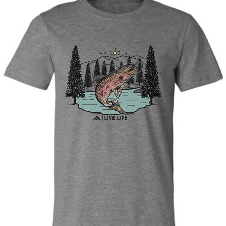 fly fishing tee