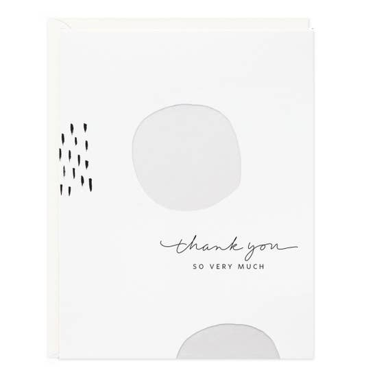 """thank you so very much"" card"