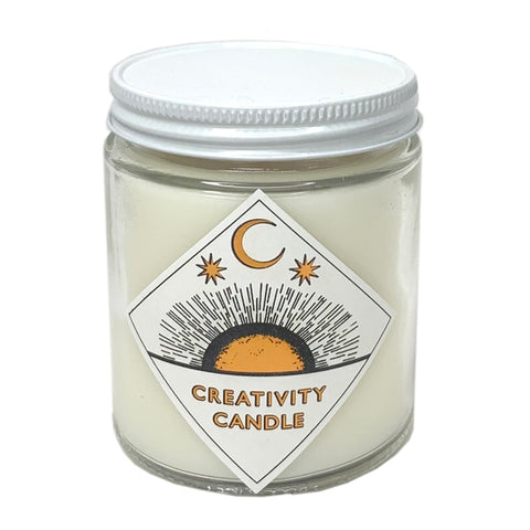 creativity ritual candle