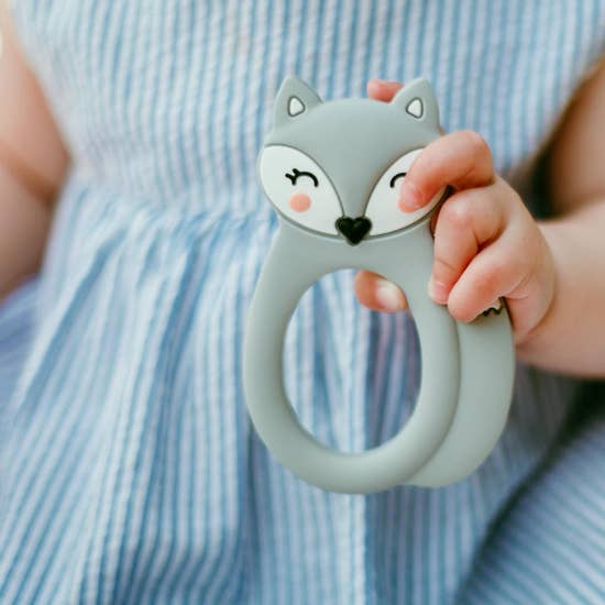 little layla fox teether