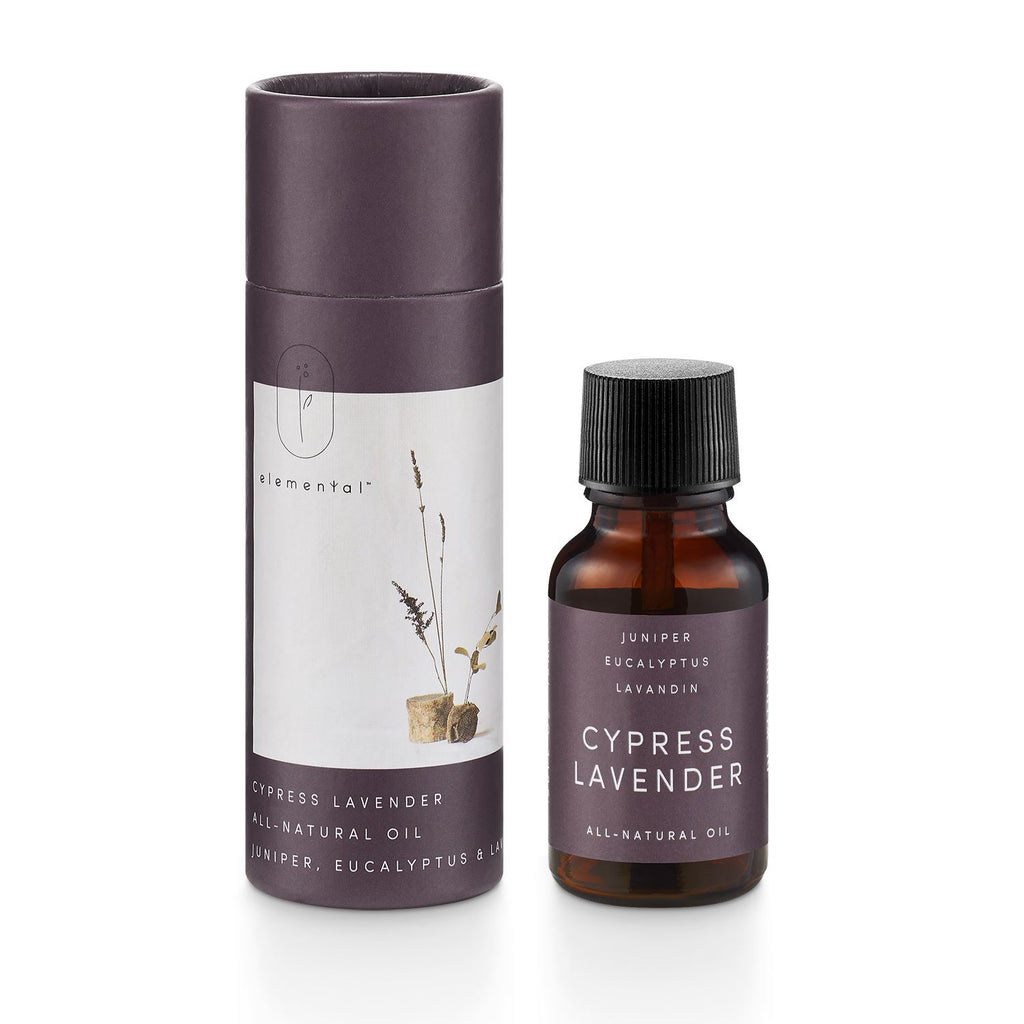 cypress lavender elemental room oil