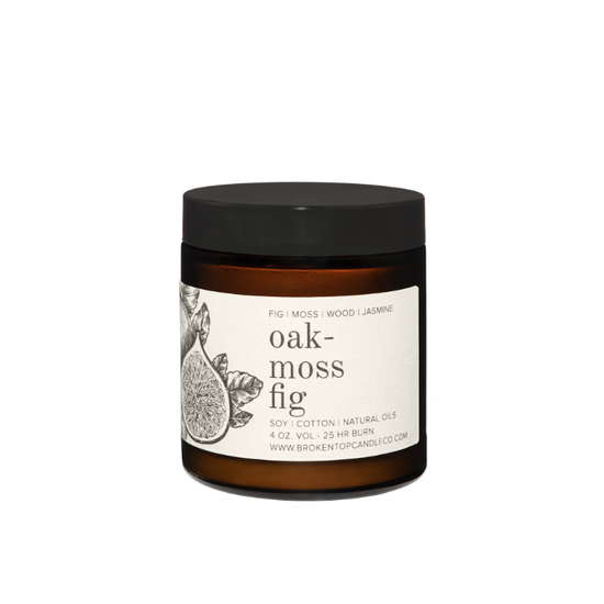 oakmoss fig 4 oz candle