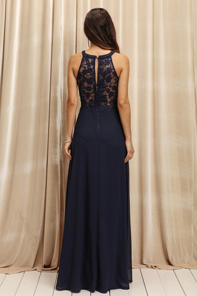 tamara navy formal dress