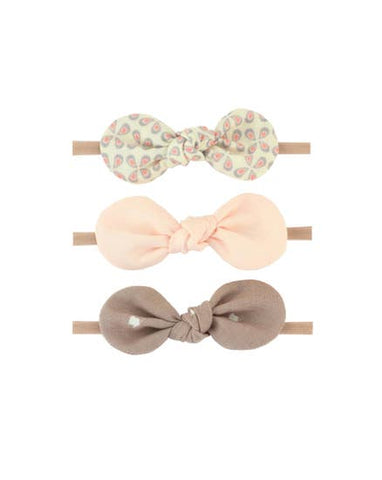 rosie floral baby bow