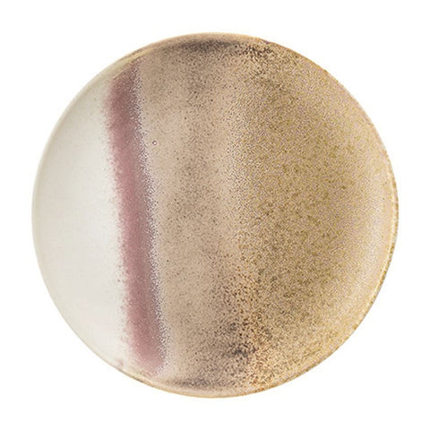 stoneware rose gold plate