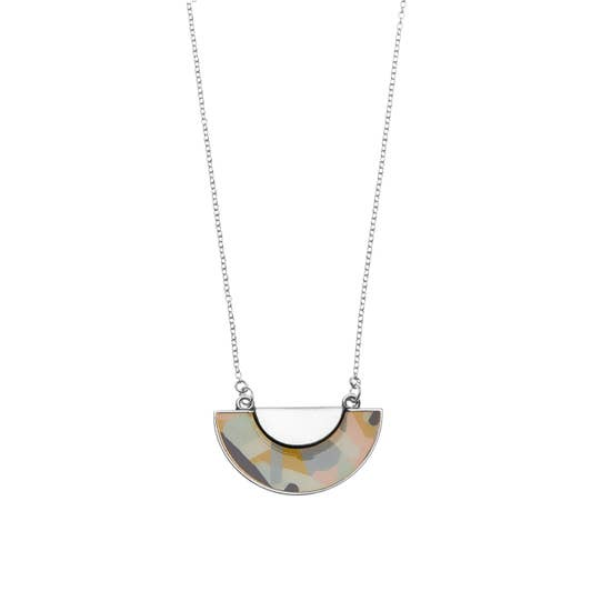 kinsey necklace in silver