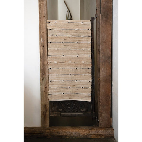 cotton and jute runner