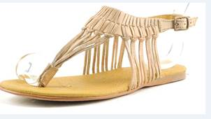 yanet nude leather sandal