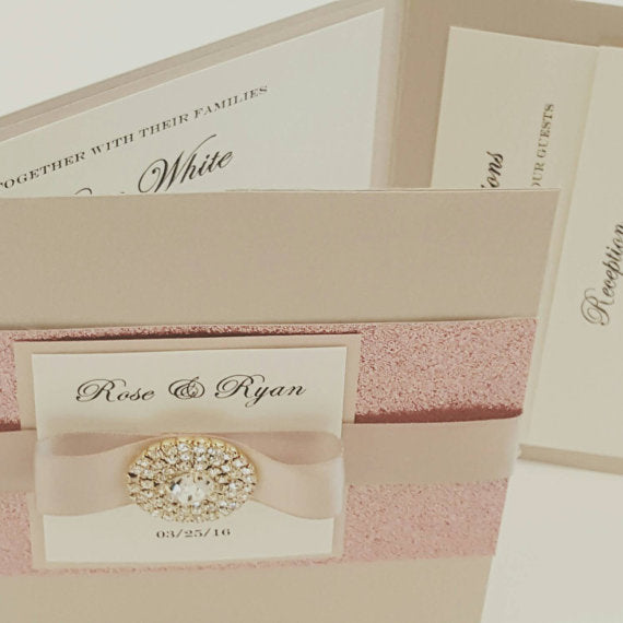 Complete Wedding Invitation Suite
