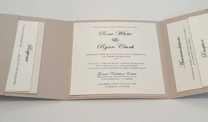 Couture Wedding Invitation Suites at affordable prices